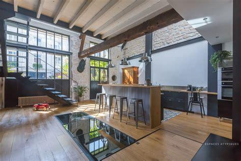modern loft conversion france