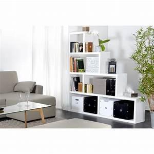 Etagere 6 Cases : tag re 6 cases escal 164cm blanc ~ Teatrodelosmanantiales.com Idées de Décoration