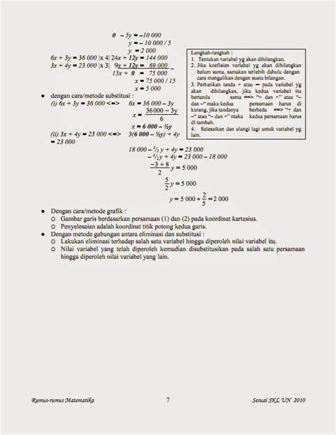 kumpulan rumus matematika lengkap belajar kumpulan rumus matematika lengkap