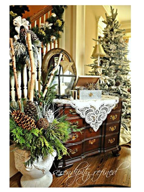 woodland christmas christmas decorating ideas pinterest