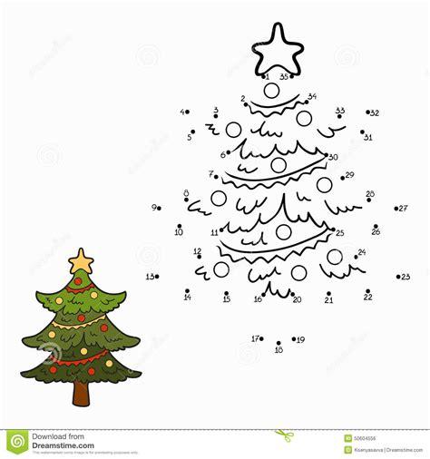 juegos de arboles de navidad juego de n 250 meros 225 rbol de navidad ilustraci 243 n vector ilustraci 243 n de learning colorante