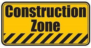Stealing construction signs- sticking it to the man ...