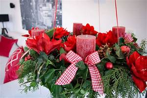 Adventskranz Rot Selber Machen : adventskranz mit amaryllis selber machen tantedine ~ Markanthonyermac.com Haus und Dekorationen