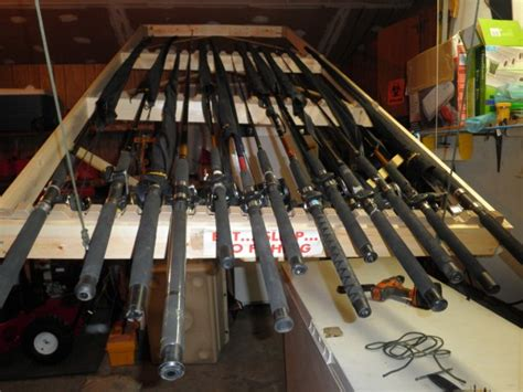 ceiling mount fishing rod racks chicago fishing reports chicago fishing forums view