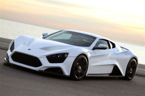 Top Most Expensive Car by Zenvo St1 Top 10 Most Beautiful 2013 14 Supercars
