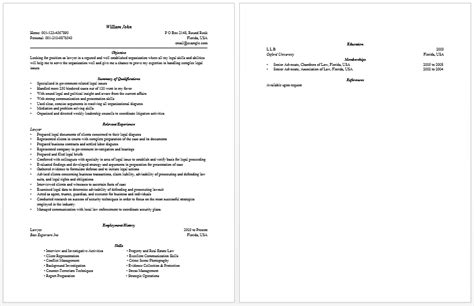 Resume Objectives For Lawyers by Lawyer Page 263 Lawyer S Information Portal