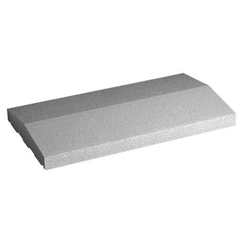 mauerabdeckung beton bauhaus mauerabdeckung satteldach naturgrau 50 x 30 cm beton bauhaus
