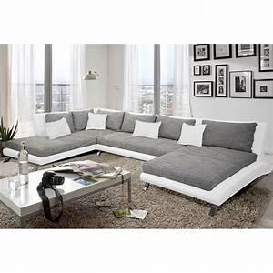 canap moderne design beautiful meubles rembourrs et With tapis de gym avec canape en u xxl