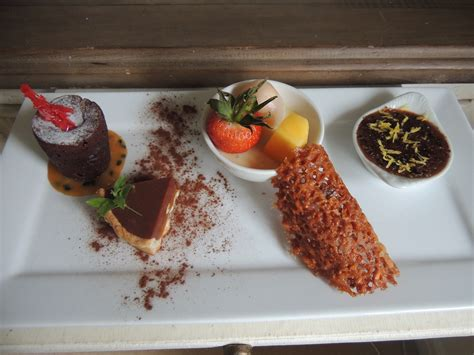 show you care with an assiette of chocolate desserts