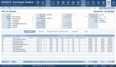 filemaker business templates jobpro central features