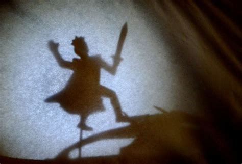 build  simple shadow puppet theater  child fun