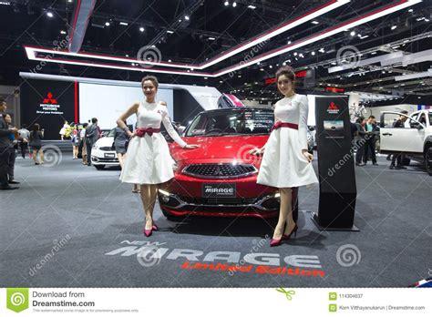 Bangkok International Motor Show 2018 With Beautiful Asian