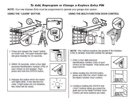 how to change a garage code my garage door opener remote has been taken i need to