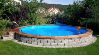 pool eingraben ohne beton www conzero de poolsystem ohne beton