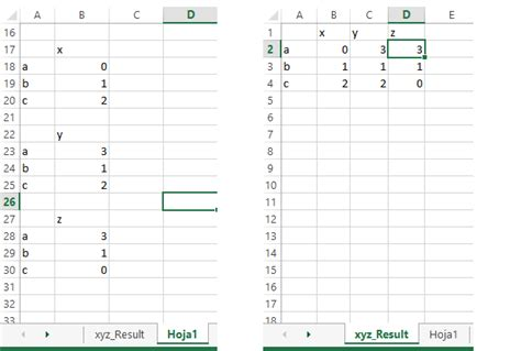 excel checking if value already exists in different