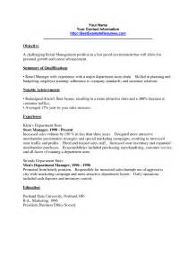 resume format sles retail resume in york sales retail lewesmr