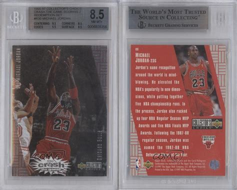 deck collectors choice 1997 1997 deck collector s choice r30 michael bgs