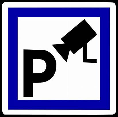 Parking Secure Symbol Sign Parkir Clip Vector