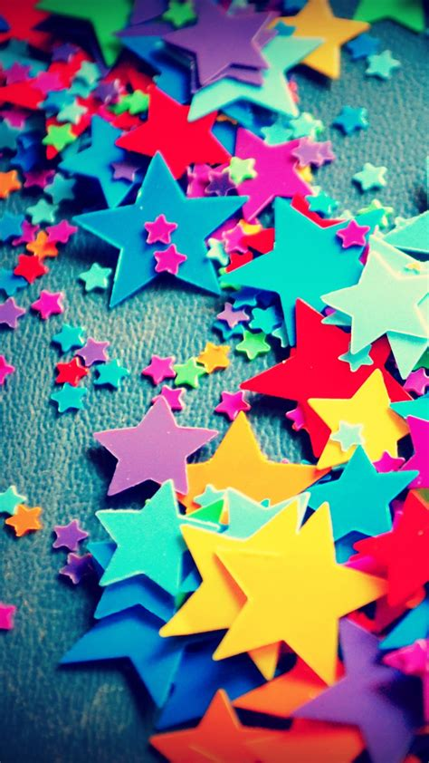 wallpaper colorful stars paper stars craft hd creative graphics  wallpaper
