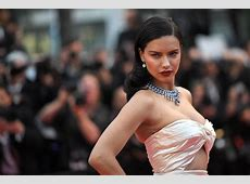 Cannes 2018 Supermodel Adriana Lima stuns in daring cut