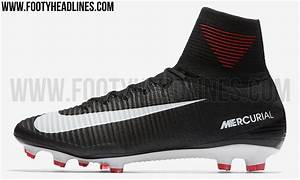 This picture shows the black Mercurial Superfly 5 2017 ...