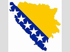 Bosnia And Herzegovina Map Flag Clipart Design Droide