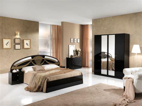 chambre avec lit noir lit athena chambre a coucher noirl 250 x h 106 3 x p 206 6