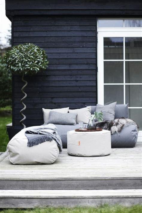 Sitzsack Outdoor  20 Trendige Einrichtungsideen Für Den