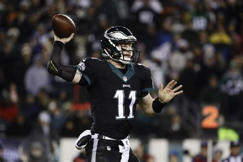eagles qb carson wentz  great path
