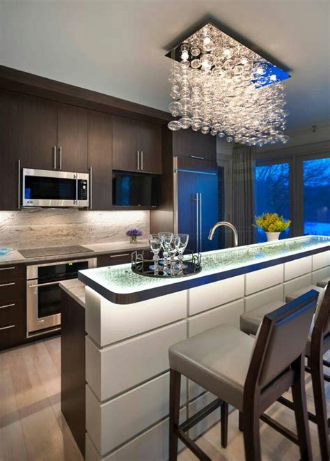 Contemporary Kitchen Chandeliers by The Differences Between A Kitchen And A Kitchenette