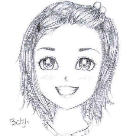 dessin facile fille dessin de fille