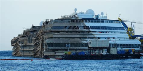 Costa Concordia Cruise Ship To Be Refloated And Removed | ITALY Magazine