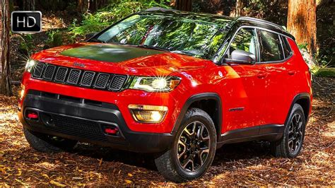 2017 jeep compass trailhawk suv exterior interior design