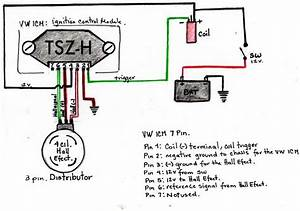 Wiring Ignition Module And Hall Effect Sensor