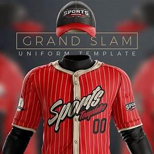 Baseball Uniform Template Mockup Psd For Photoshop