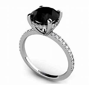 ladies black diamond ring wedding promise diamond With black diamond womens wedding rings
