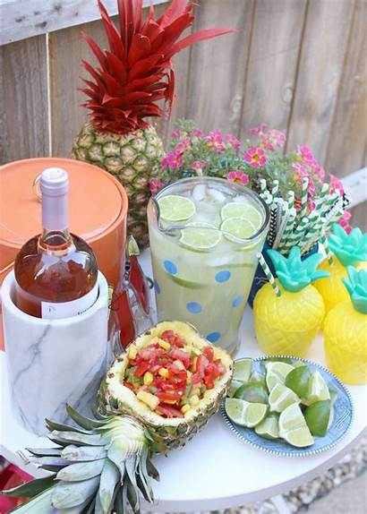Party Pineapple Theme Summer Kissing Tequila Booth