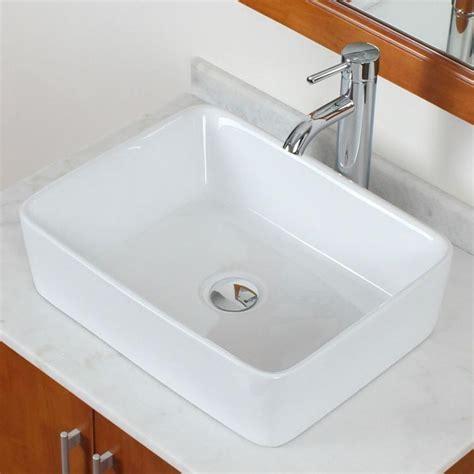 square vessel sink vanity bathroom square white ceramic porcelain vessel sink chrome