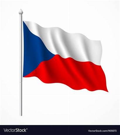 Flag Poland Czech Republic Vector Royalty Vectorstock