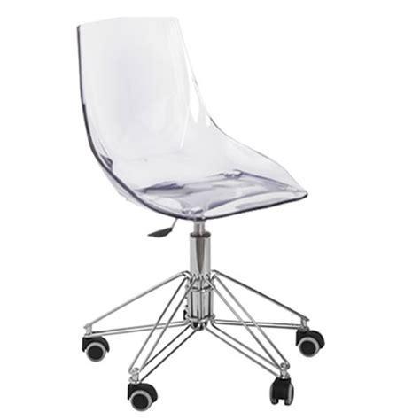 chaise de bureau transparente chaise de bureau fly prix chaise de bureau fly prix
