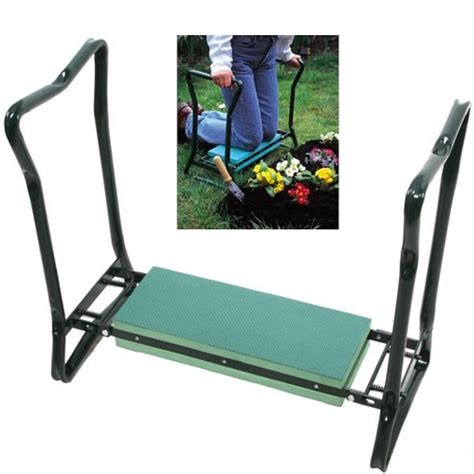 foldable garden kneeler chair and step