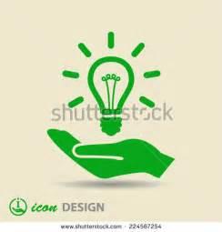 Save Electricity Light Bulb Art