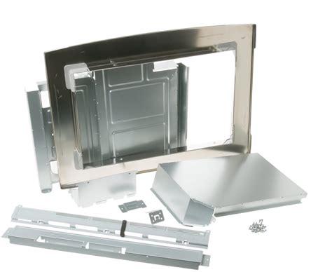 ge jxsmss   built  trim kit stainless steel