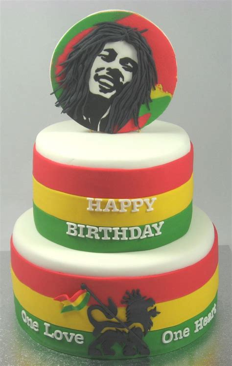 cuisiner c鑵es bob marley 2 tiered cake by cakesisters com au