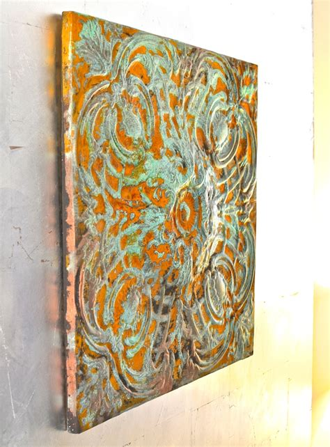 There's something about hanging wall decor that makes all the difference in a space. 14 Easy And Budget-Friendly DIY Faux Patina Finishes For Metal Items - Shelterness