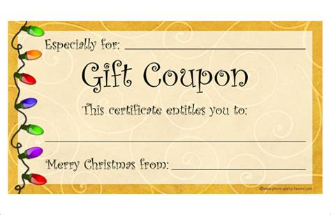 07043 Make Your Own Coupons Free by 28 Coupon Templates Free Sle Exle