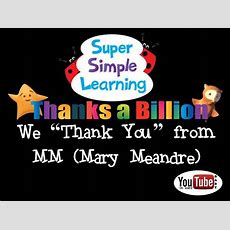 Happy Billion Views Super Simple Learning Youtube