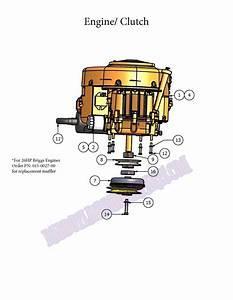 Bad Boy Mower Part 2007 Zt Engine  U0026 Clutch