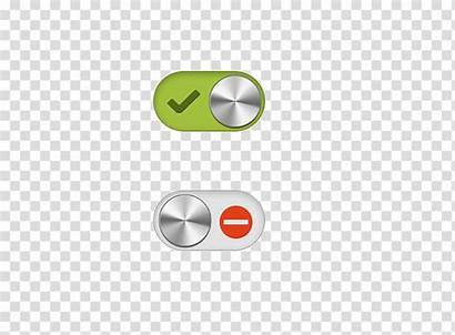 Button Toggle Clipart Icon Switch Push Vectorified