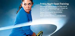 Friday night workout at MTC! - Morningside Tennis Centre ...